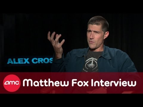 Matthew Fox Talks ALEX CROSS (Interview) - YouTube