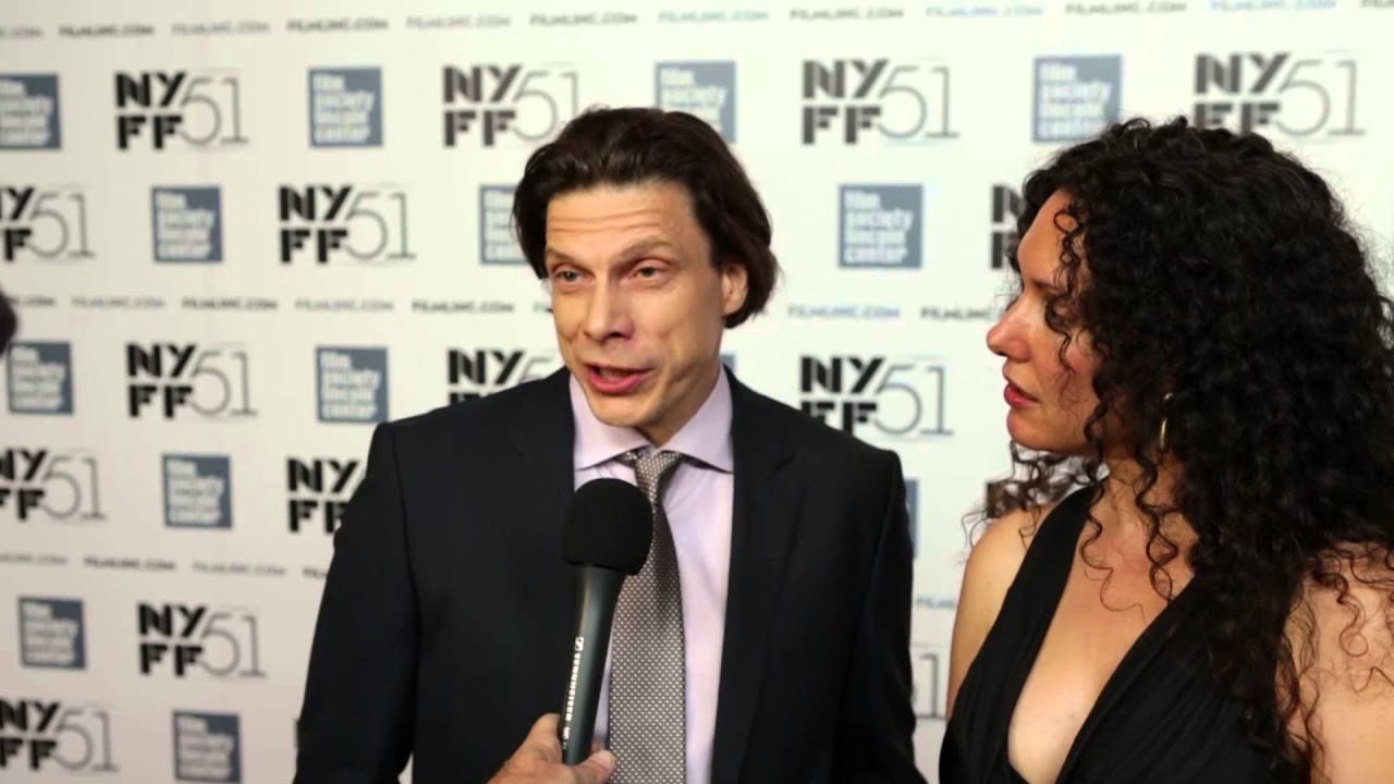 "NYFF51: Allison Berg and Frank Keraudren   ""The Dog"" Red Carpet"