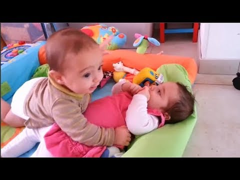 Funny Twin Baby Video Compilation 2019 -  Funny Talking Twin Babies  - Youtube