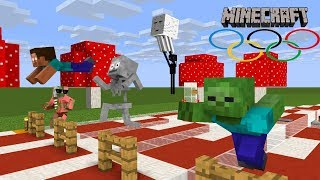 Monster School : BEST OLYMPIC CHALLENGE EVER! -Minecraft Animations