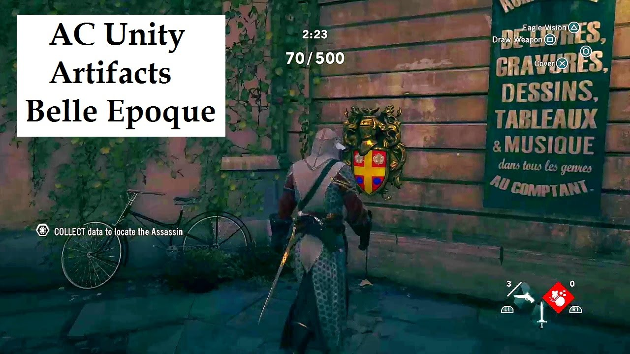 Assassin S Creed Unity All Artifact Locations Belle Epoque