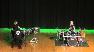 epic drum battle March 13, 2016