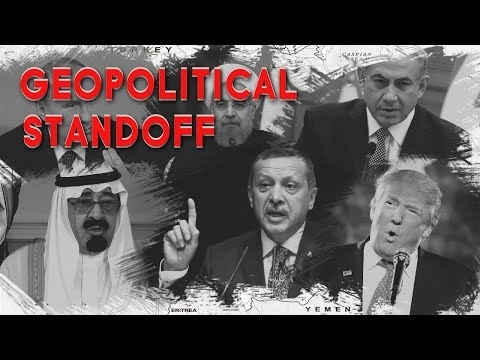 Geopolitical Standoff In Post-ISIS Middle East[2017]