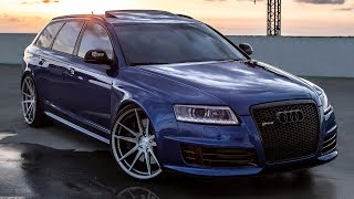 Audi RS 6 (2009) Videos