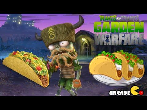 Plants Vs. Zombies Garden Warfare: Bandit Taco All Maps