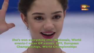 [ENG SUB] Spanish Commentary: Evgenia Medvedeva (RUS) FS - Worlds 2017