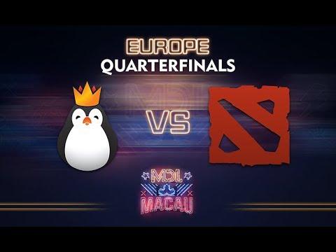 Kinguin vs Evil Corp. Game 2 - MDL Macau EU Qualifier: Quarterfinals - @dragondropdota