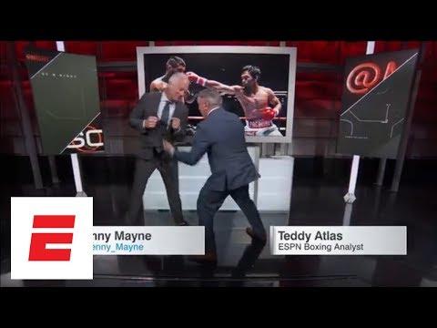 Manny Pacquiao Winner By TKO vs. Lucas Matthysse vs. SportsCenter ESPN