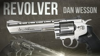 Revolver Dan Wesson full metal - softair + test di tiro