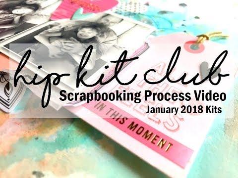 Scrapbooking Process  #377 Hip Kit Club / I Heart You
