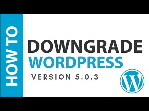 How To Downgrade Or Go Back To Old Version Of WordPress in Hindi | WordPress Tutorials in Hindi thumbnail