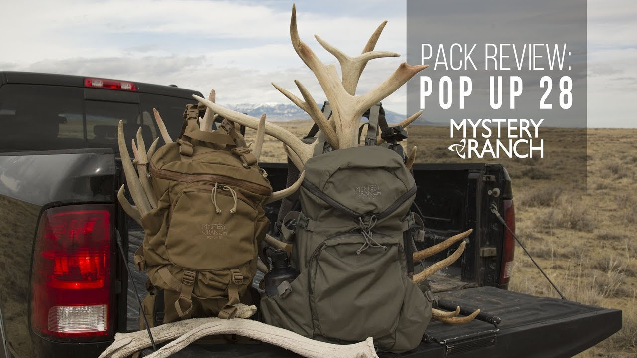 New Meat-Hauling Day Pack: The Pop Up Pack by Mystery Ranch - YouTube