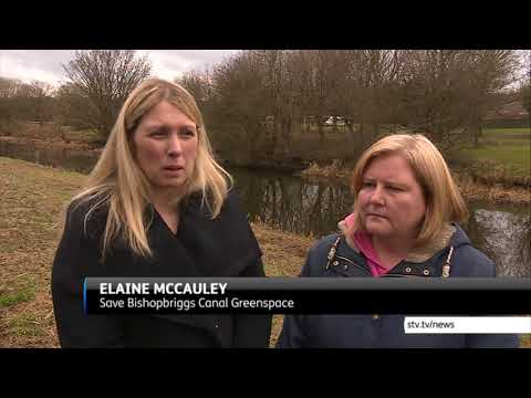 Bishopbriggs residents call for change in planning laws - STV News report