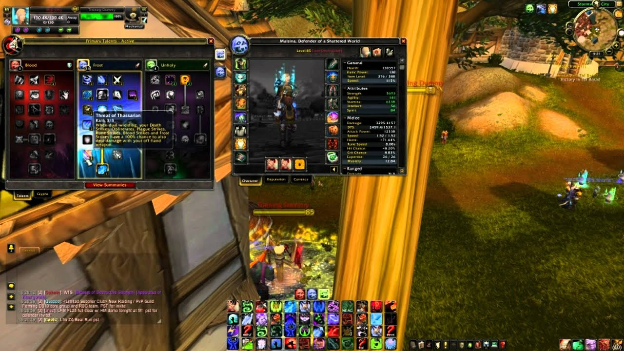 Noccix World Of Warcraft 4 2 4 3 Dual Wield Frost Dk Guide