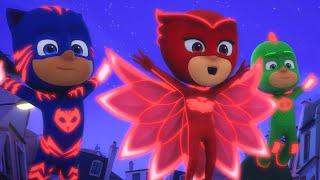 Pijamaskeliler Türkçe - Uçan Üçlü Kahramanlar - çizgi filmleri çocuklar için