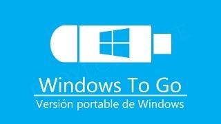 Cómo crear USB booteable Windows To Go | Windows portable ✔
