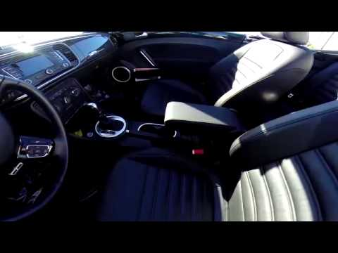 2013 VW Beetle Turbo CVT Fender Edition #1551 interior