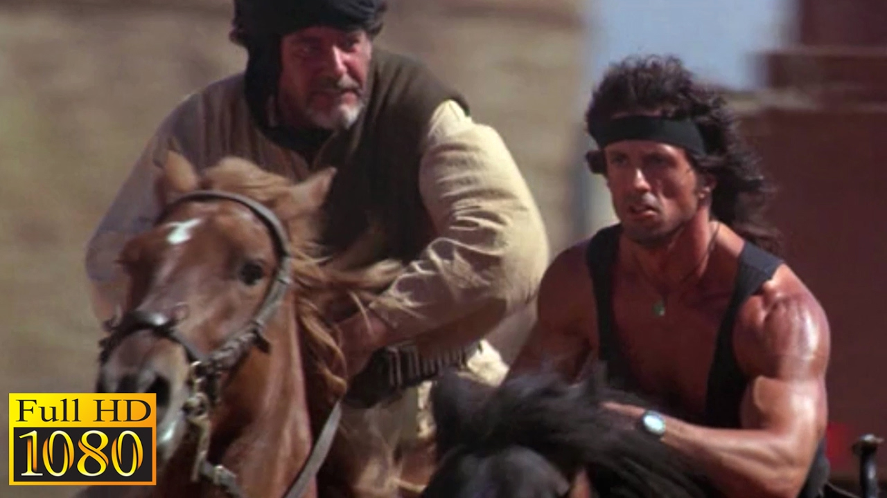 Rambo 3 Elicottero : Rambo playing sheep ball scene p