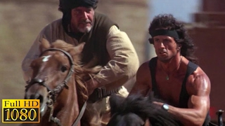 Rambo 3 (1988) - Rambo Playing Sheep Ball Scene (1080p) FULL HD