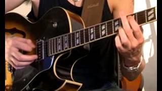 How to Play a Dbmaj7 Arpeggio on Guitar - Jazz Guitar Lesson