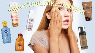 Today's video we are trying drugstore fake tanners! My merch:) : https://www.miamaplesmerch.com/ :D :D :D :D :D :D :D :D :D :D :D :D Instagram: @miamaples ...