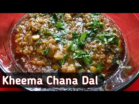 Kheema Chana Dal   Minced Mutton with Split Bengal Gram w/ English subtitles by Ek Indian Ghar