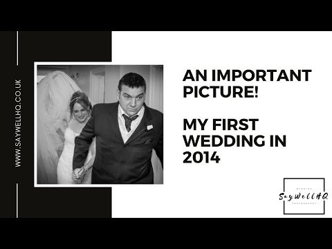 An Important Picture - My First Wedding in 2014