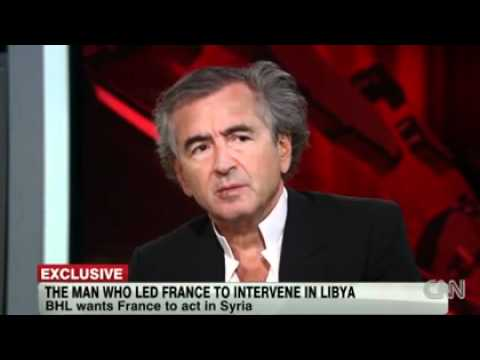 BHL invité de CNN International