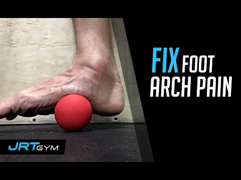 Fix Foot Arch Pain from Jump Rope
