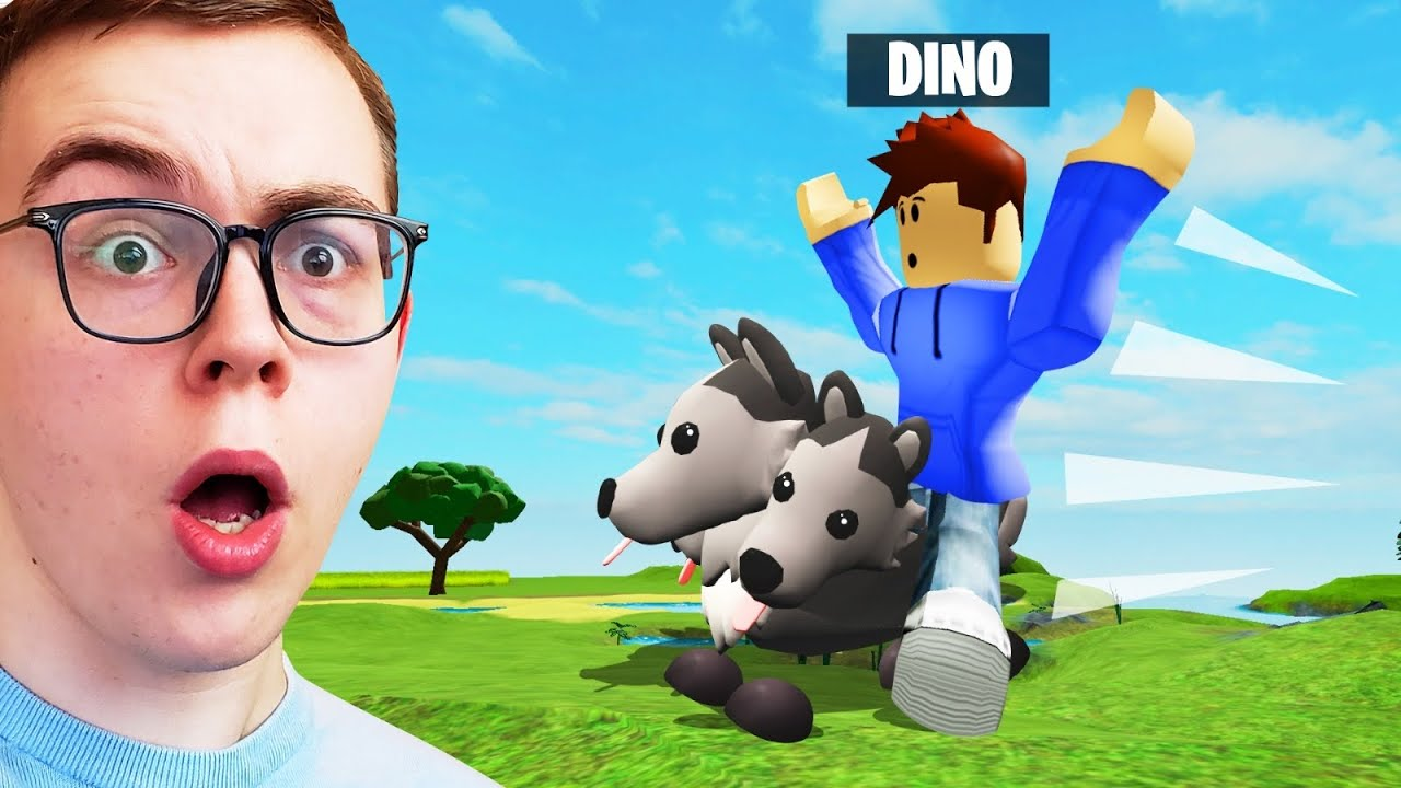 RIDING On CERBERUS In ADOPT ME! (Roblox)