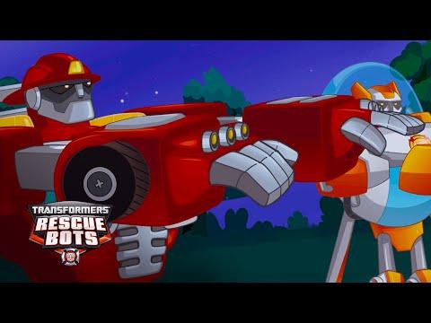 Transformers: Rescue Bots Season 1 - 'Act Like a Human Robot' Official Clip