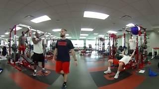 Dayton Men's Basketball 360° Workout
