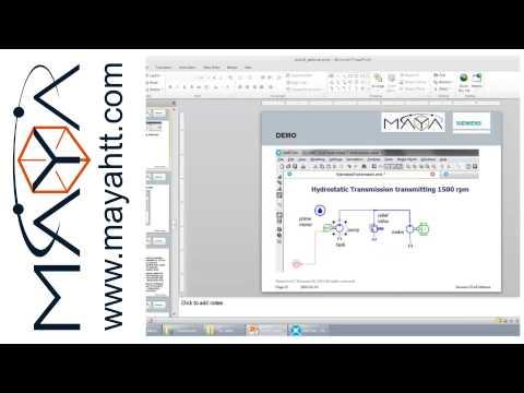 Webinar: Model Based System Engineering with LMS AMESim