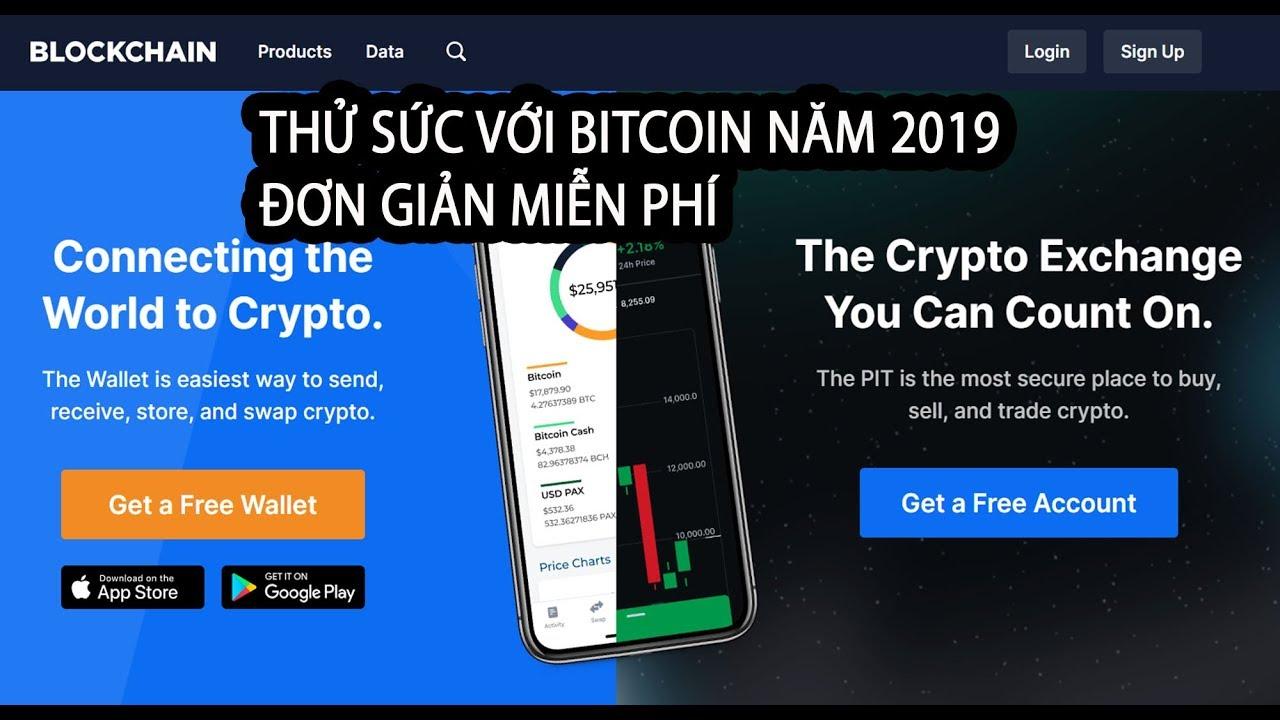 Blockchain Hướng dẫn tạo ví Bitcoin cơ bản | Kiếm bitcoin miễn phí | và chuyển thành tiền Việt