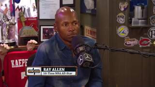 Ray Allen Talks Comeback, LeBron, Jordan & More w/Dan Patrick | Full Interview | 9/11/18