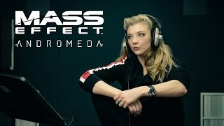 Mass Effect Andromeda Outtakes with Natalie Dormer
