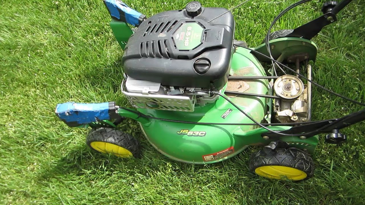 John Deere Js63c Lawn Mower -- Transmission Self Propelled Problem - Part Ii