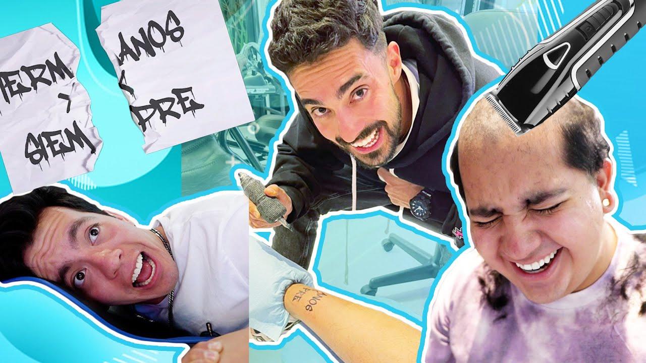 Download RAPANDO Y TATUANDO A LOS SKABECHES!