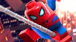 LEGO Marvel SuperHeroes 2 - Spider-Man Full Movie All Cutscenes