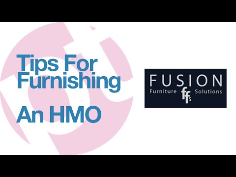 Tips for furnishing an HMO