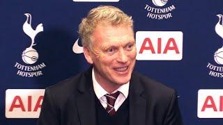 Tottenham 1-1 West Ham - David Moyes Post Match Press Conference - Premier League #TOTWHU