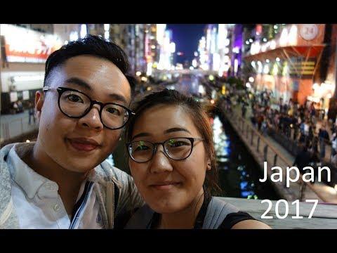 HELLO AGAIN... FROM JAPAN? | Asia Trip 2017 (Part 1) [Osaka, Nara, Kyoto]