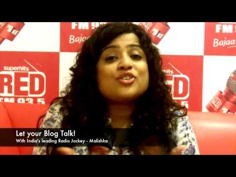 Malishka - India's leading Radio Jockey!