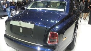 ROLLS-ROYCE PHANTOM extended wheelbase EWB limousine serie II 2015 geneva motor show premium [HD]