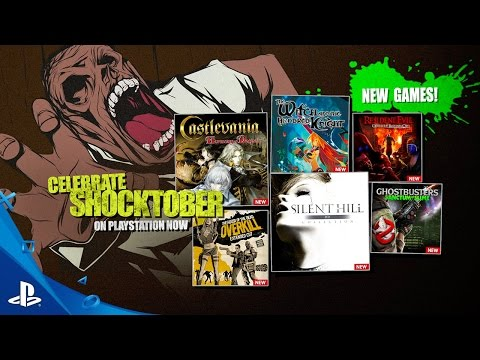 Shocktober - PlayStation Now Subscription New Games for October 2016 | PS4