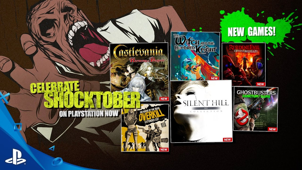 Shocktober Playstation Now Subscription New Games For