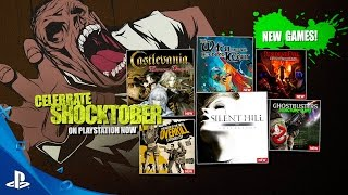 Shocktober - PlayStation Now Subscription New Games for October 2016 | PS4 thumbnail