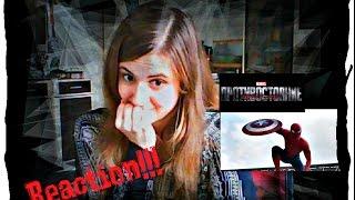 Первый мститель: Противостояние (Реакция на новый трейлер)/ Captain America: Civil War (Reaction)