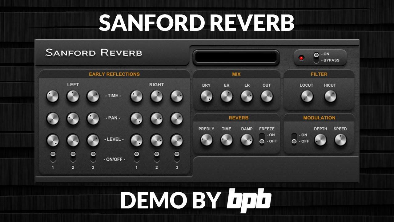 Sanford Reverb VST Plugin DEMO