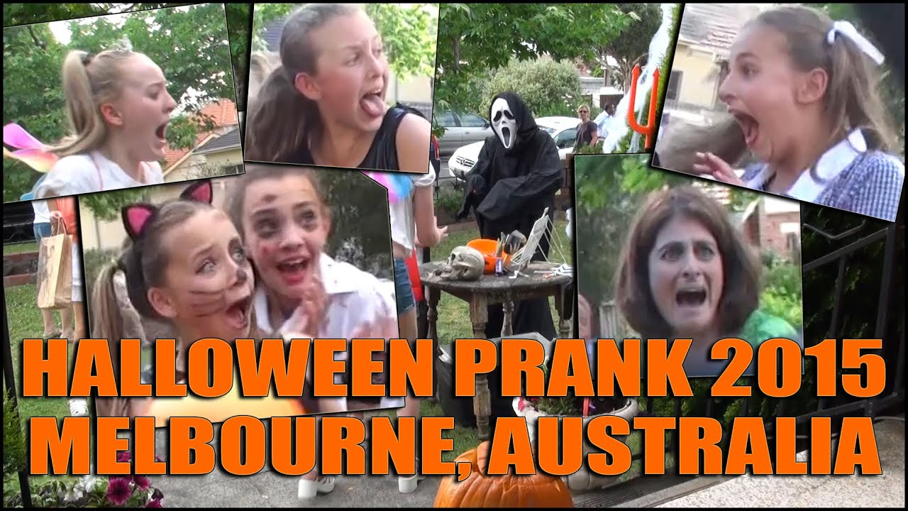 halloween scream prank in melbourne australia 2015 - youtube